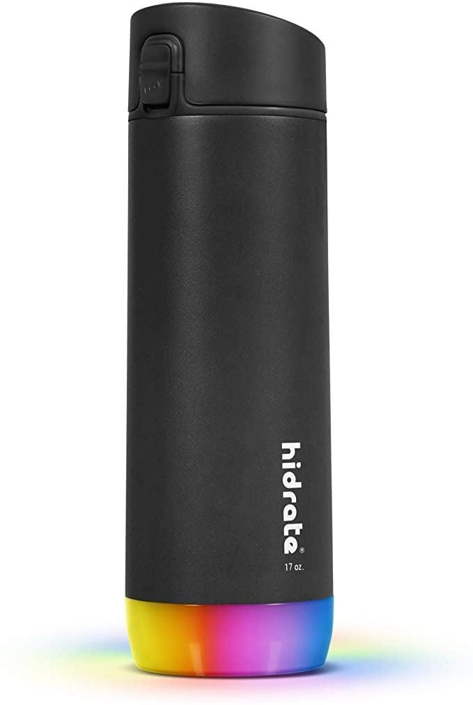 """<p>If you're shopping for someone who loves to live a healthy lifestyle, the <span>HidrateSpark Pro Smart Water Bottle, Tracks Water Intake &amp; Glows to Remind You to Stay Hydrated</span> ($70) will be their new best friend. It's a smart water bottle that will remind them to drink water throughout the day by glowing. It even tracks their exact water intake and lets them know their progress on daily goals. How cool is that!? <a href=""""https://www.popsugar.com/fitness/hidrate-spark-steel-smart-water-bottle-review-48465791"""" class=""""link rapid-noclick-resp"""" rel=""""nofollow noopener"""" target=""""_blank"""" data-ylk=""""slk:Read our in-depth review!"""">Read our in-depth review!</a> </p>"""