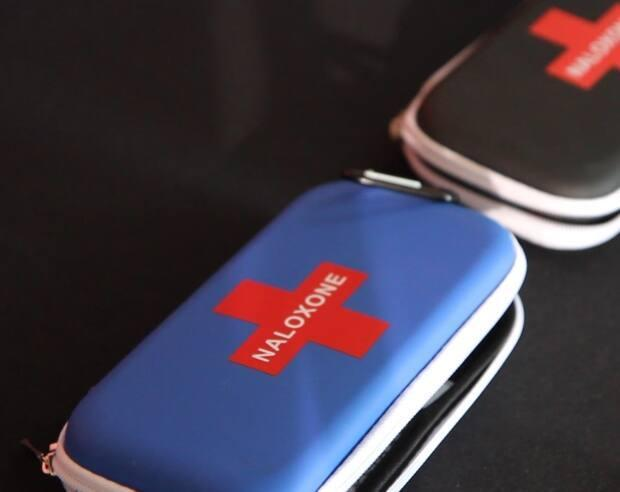 Kits containing naloxone, which reverses an opioid overdose, are seen in a file photo. (Christine Rankin - image credit)
