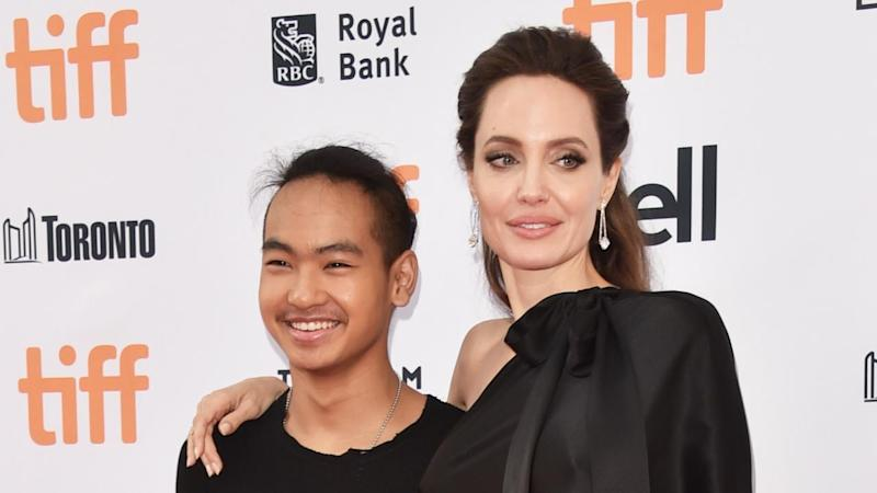 Angelina Jolie Drops Her Son Maddox Off at College: 'I'm Trying Not to Cry'