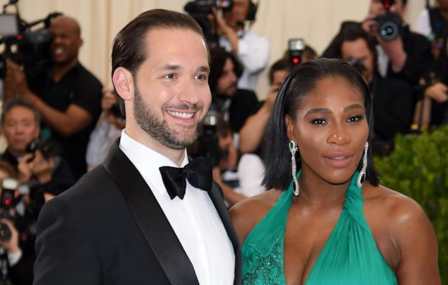 "<a class=""link rapid-noclick-resp"" href=""/olympics/rio-2016/a/1132744/"" data-ylk=""slk:Serena Williams"">Serena Williams</a>' husband Alexis Ohanian got her four billboards to celebrate her return to tennis. (Getty Images)"