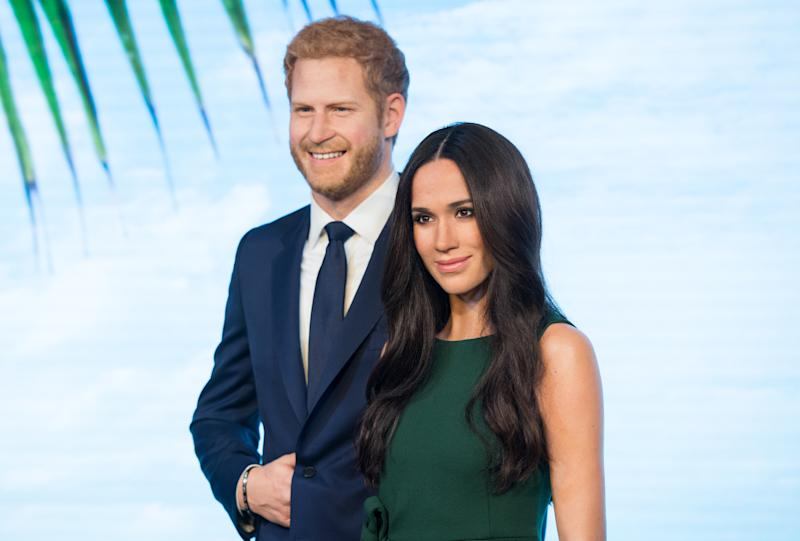 """<h1 class=""""title"""">Madame Tussauds Unveils A Wax Figure Of Meghan Markle</h1> <cite class=""""credit"""">Samir Hussein/Getty Images</cite>"""