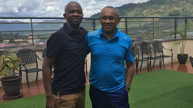 New Caf President graces Kenya v Malawi friendly