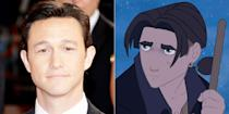 """<p>Disney's space version of <em>Treasure Island</em> stars JGL—then just a year off <em>3rd Rock From the Sun</em>—as its protagonist Jim Hawkins. """"He… fights some pirates, goes on a boat, and he figures it out,"""" <a href=""""https://www.youtube.com/watch?v=XRiknXd-4f8"""" rel=""""nofollow noopener"""" target=""""_blank"""" data-ylk=""""slk:Gordon-Levitt said"""" class=""""link rapid-noclick-resp"""">Gordon-Levitt said</a> of the 2002 movie. """"We've all fought our pirates and gone on our boats, so I think everybody should be able to relate to Jim.""""</p>"""