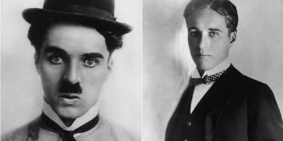 """<p>That's right: This silent era actor was a <em>very</em> handsome fellow without that <a href=""""https://www.goodhousekeeping.com/beauty/g2810/famous-men-with-without-beards/"""" target=""""_blank"""">thick mustache</a>, heavy eyeliner, and goofy walk. Who would've guessed?</p>"""