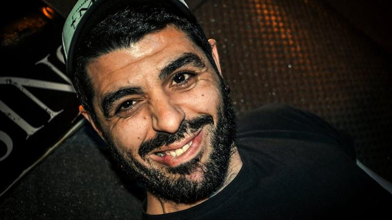 Aphoto dated on June 24, 2012 of Pavlos Fyssas. The 34-year-old was fatally stabbed in the working-class Athens district of Keratsini early on September 18, 2013