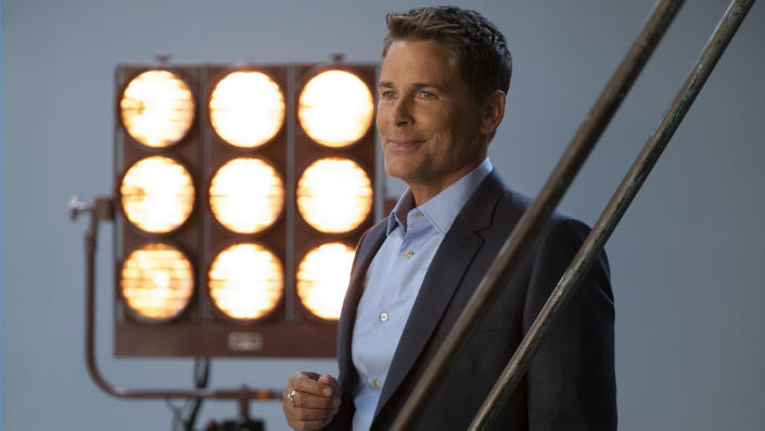 Rob Lowe in episode 101 of ATTACK OF THE HOLLYWOOD CLICHES (Adam Rose / Netflix)
