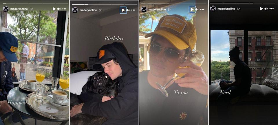 Outer Banks' Madelyn Cline Wishes Chase Stokes the 'Happiest' Birthday in Loving Tribute