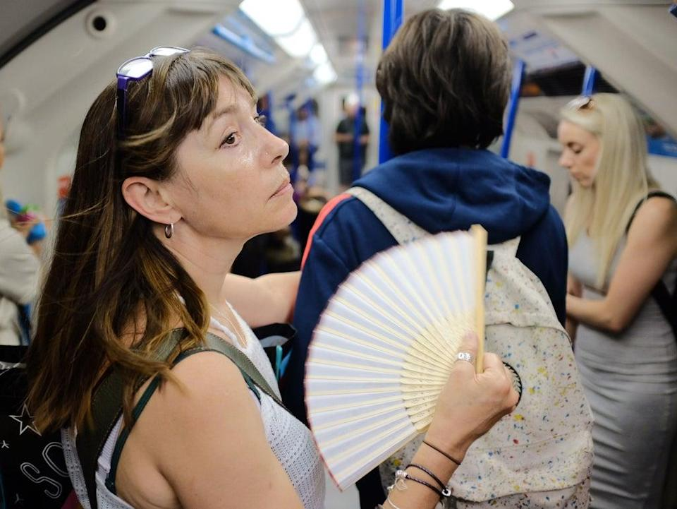 Analysis suggests rising temperatures could make the Tube potentially unbearably hot for more than a month a year  (PA)