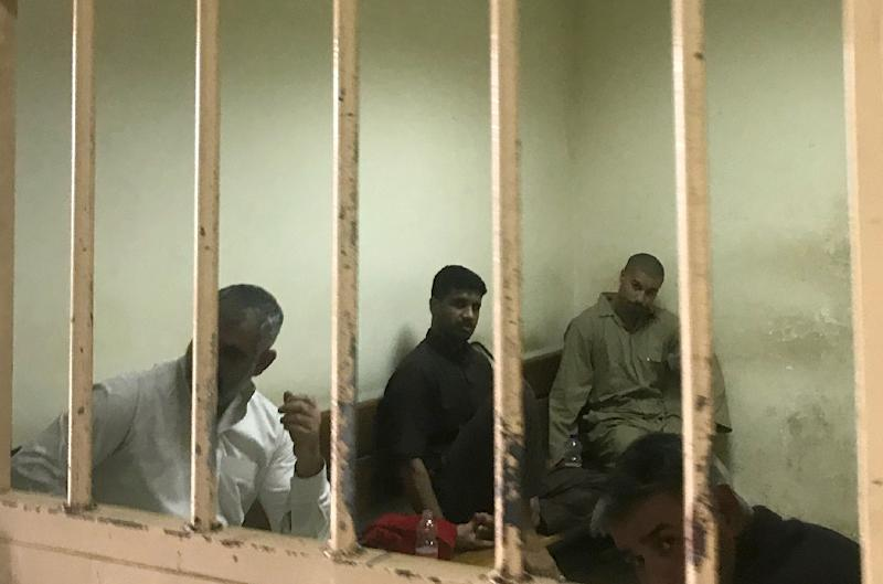 Rights groups have accused Iraqi courts such as this one in Baghdad of issuing harsh sentences after lightning-fast trials (AFP Photo/Ammar Karim)