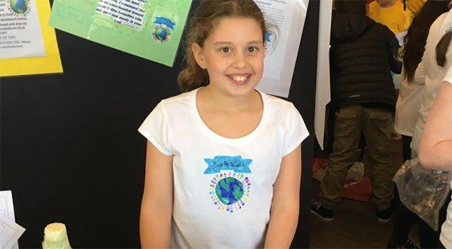 Mikayla said she hopes to grow up to be the prime minister. Source: Supplied