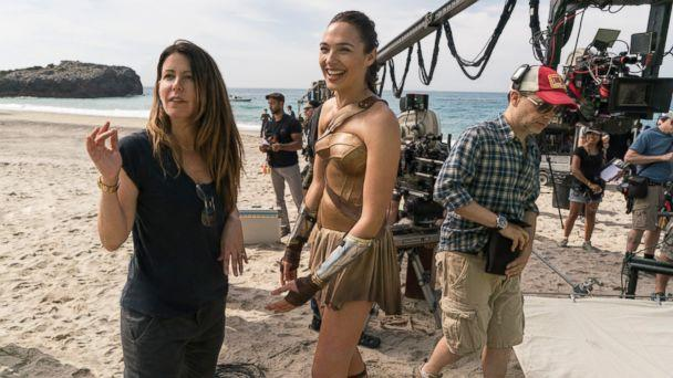 PHOTO: The director of photography for Wonder Woman shares photos from the set. Director Patty Jenkins and Gal Gardot are pictured on set. (Clay Enos)
