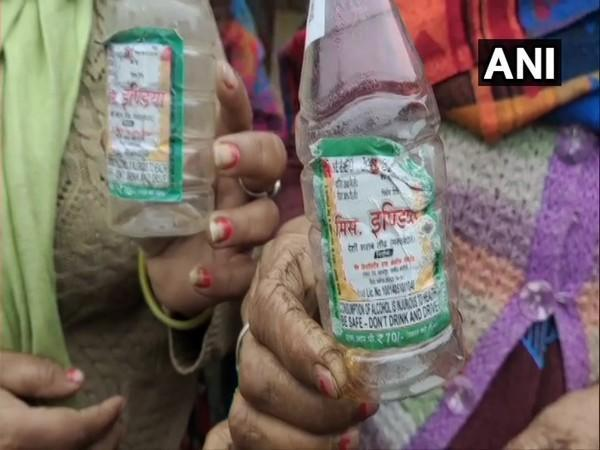 Illicit liquor was being sold by the brand named Prince India (Photo/ANI)
