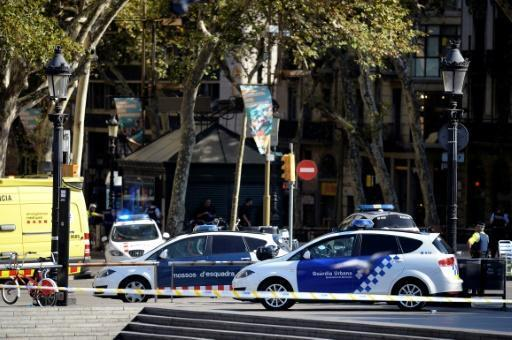 Two dead as van rams Barcelona crowd