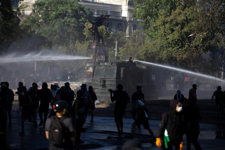 Furious Chileans have taken to the streets to vent at the elites that control much of the country's wealth