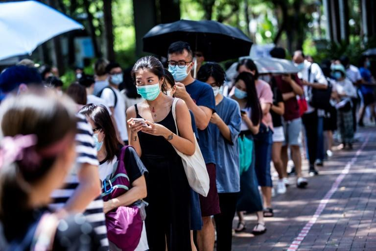 More than 600,000 Hong Kongers turned out over the weekend to choose candidates for upcoming legislative elections