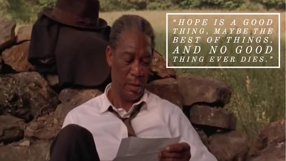 Shawshank Redemption movie quote