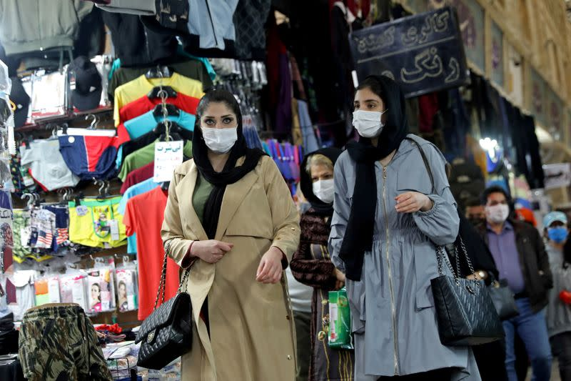 FILE PHOTO: Tehran reopens after a two-week shutdown