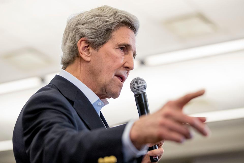 Former Secretary of State John Kerry was appointed presidential envoy for climate and will sit on the National Security Council.