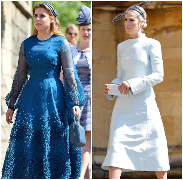 Harry and Meghan may also choose Harry's cousin, Princess Beatrice or fashion designer&nbsp; <span>Misha Nonoo.</span>&nbsp;[Source: Getty]