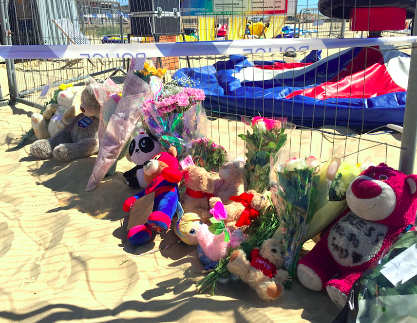 <em>The owners of the bouncy castle will not face manslaughter charges (PA)</em>