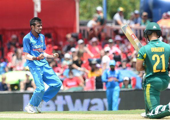 Chahal has been a regular in India's white-ball set-