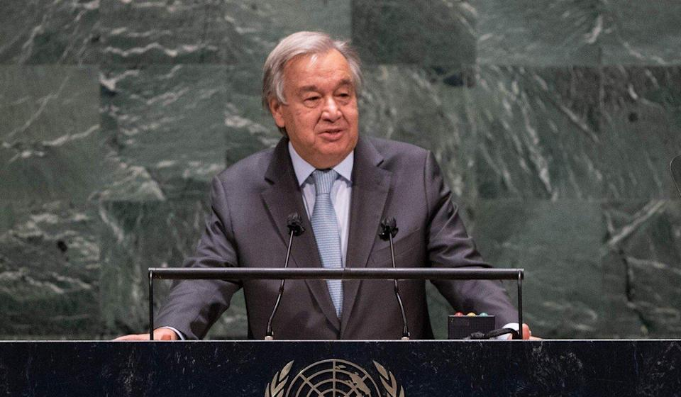 An equitable and sustainable vaccine roll-out is the quickest path towards a fast and fair recovery, according to UN Secretary General Antonio Guterres. Photo: AFP