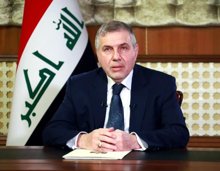 Iraqi prime minister-designate Mohammad Allawi gives a televised speech calling for a confidence vote in his government, formed after mass protests across the country