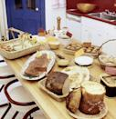 <p>Potlucks came into fashion around the mid-'60s and continued to grow in popularity throughout the next decade. They took a lot of the pressure off of hosting.</p>
