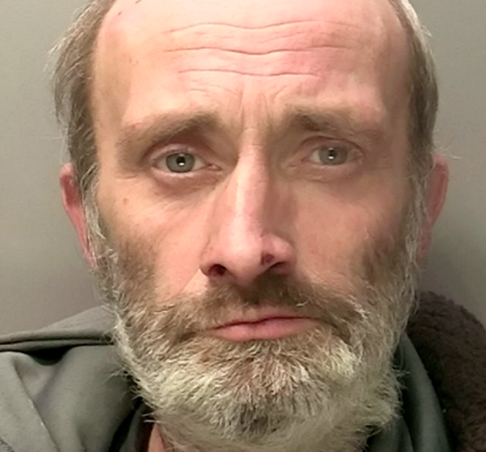 Paul Harvey pleaded guilty to robbery and was jailed for six years. (SWNS)