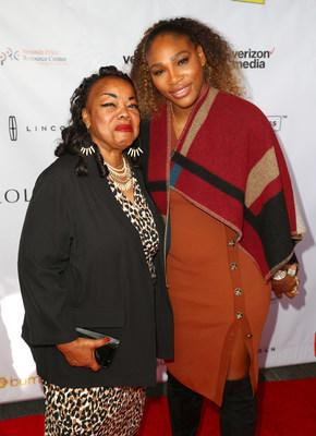 Serena Williams And Yetunde Price Resource Center Celebrate Home Bridge Partnership With Apartment List attended by Bonnie Morrison and Serena Williams