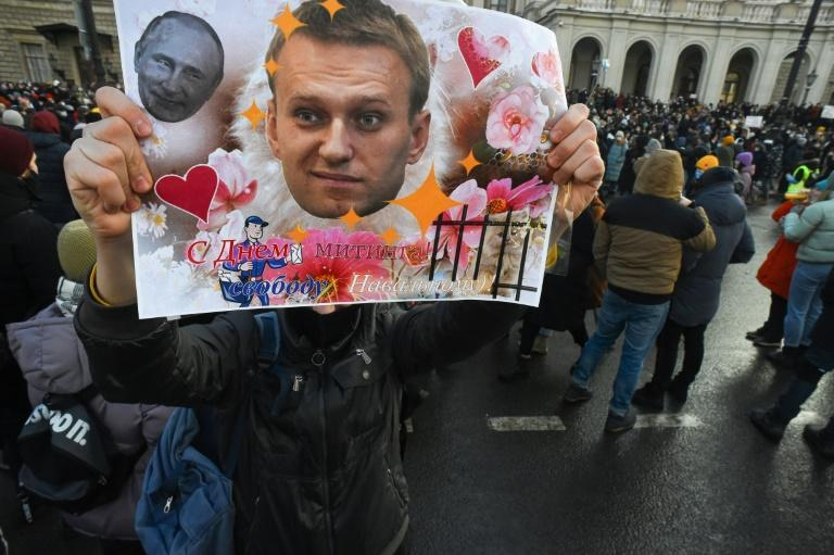 Navalny's team has called for a protest Tuesday outside the Moscow court hearing his case