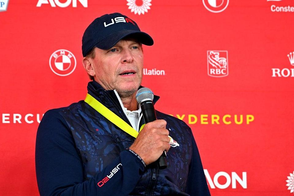 US captain Steve Stricker has called for fans not to 'cross the line' in the 43rd Ryder Cup (Anthony Behar/PA) (PA Wire)
