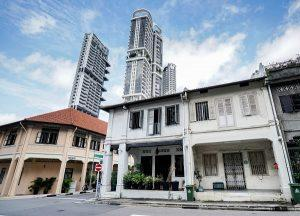 freehold corner residential shophouse