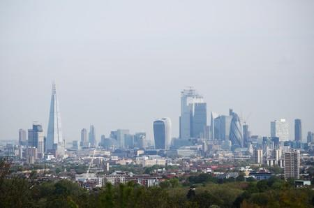 FILE PHOTO: A general view of The Shard and the financial district is seen in London