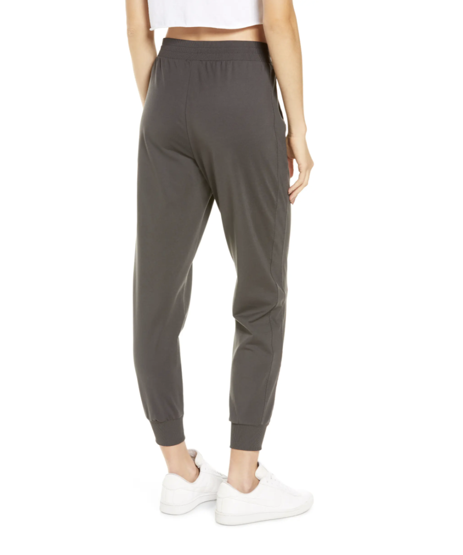 Zella Live In Jogger Pants in Grey Forged (Photo via Nordstrom)