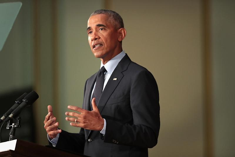 OBAMA RETURNS: Former President Obama Tells Students GOP 'Capitalizing on Resentment'