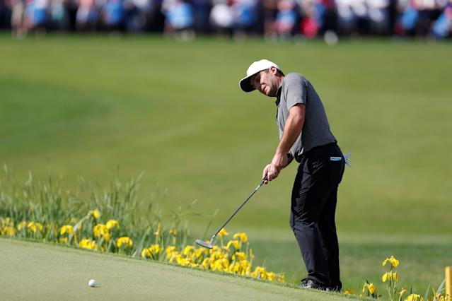 Golf - European Tour - BMW PGA Championship - Wentworth Club, Virginia Water, Britain - May 27, 2018 Italy's Francesco Molinari in action during the final round Action Images via Reuters/Paul Childs