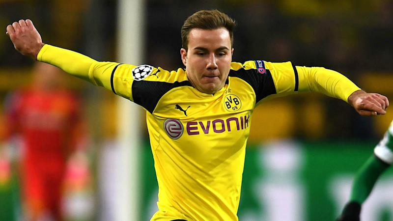 Gotze ruled out of Dortmund's clash with Benfica