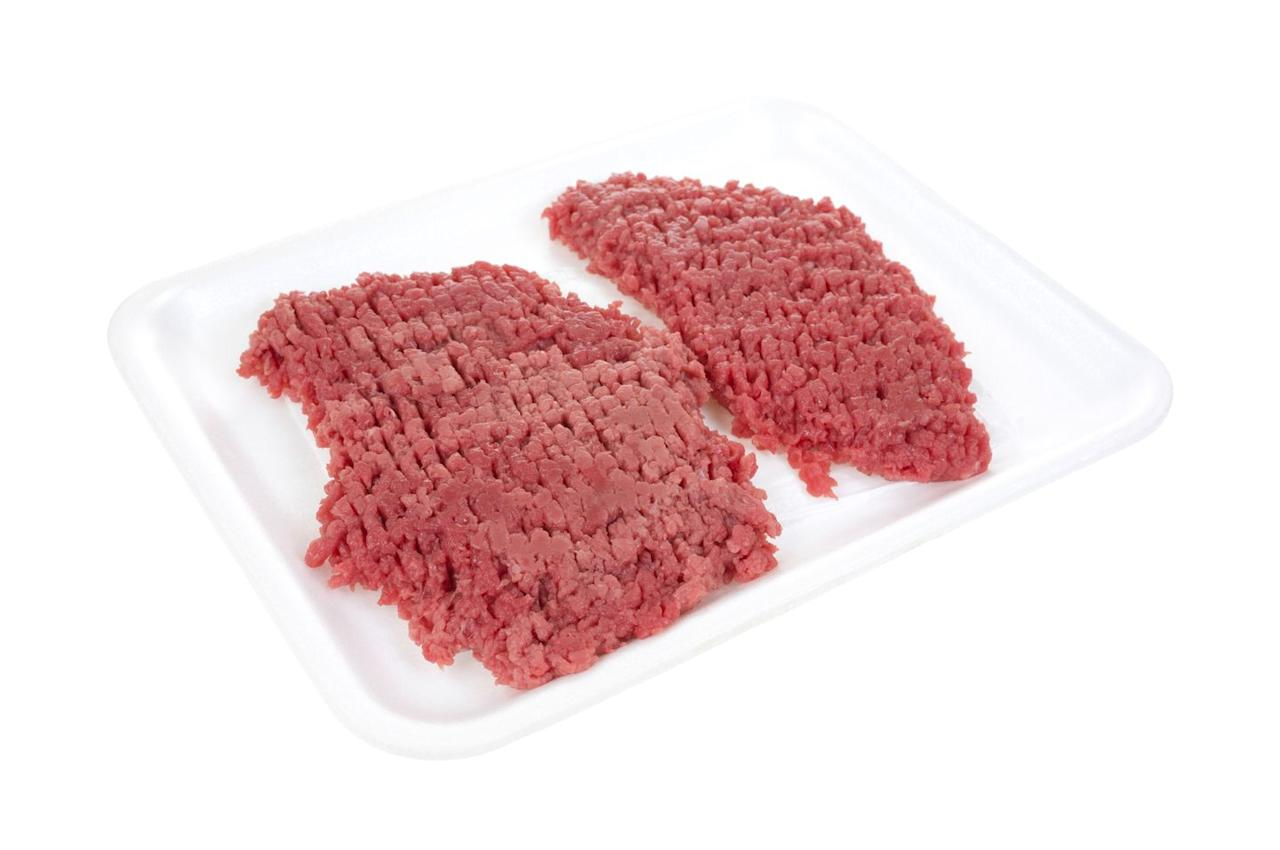 <p>Also called a minute steak, because that's about how long you want to cook it, cube steak is thinly sliced from the round (or back end) of the steer and then pounded until it's tender. This leaves the beef with cube-shaped marks, leading to its name and an appearance somewhat resembling ground beef. Typically a top sirloin, cube is great for chicken-fried and Swiss steaks, and can be pan fried, braised or even sautéed.  </p>