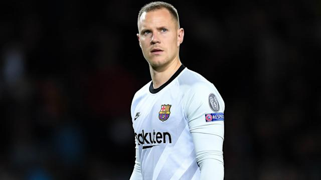 The German shot-stopper's knee injury is likely to see him miss a La Liga fixture and a semi-final meeting with Atletico Madrid in Saudi Arabia
