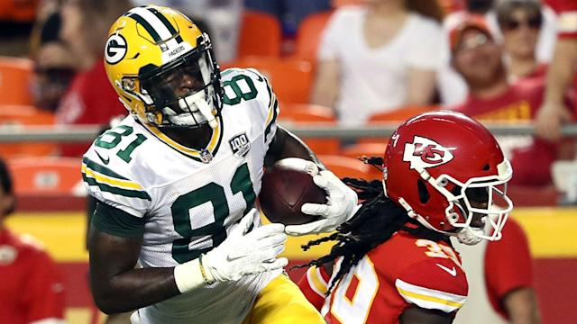 Geronimo Allison appears set for a long stint on the sidelines in a blow to the Green Bay Packers.