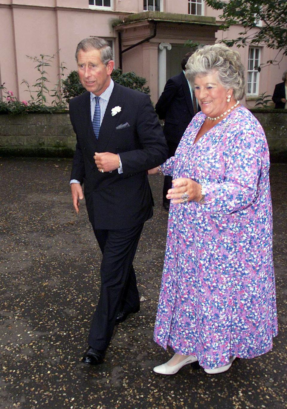 The Prince of Wales with Lady Mary Colman