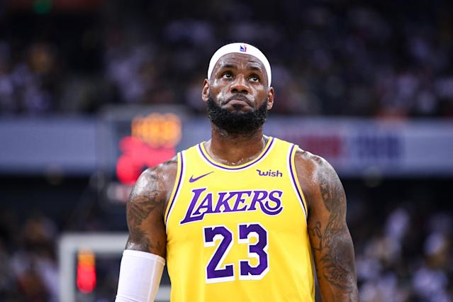 Details have emerged on the financial consequences LeBron James and his teammates faced in China. (Zhong Zhi/Getty Images)