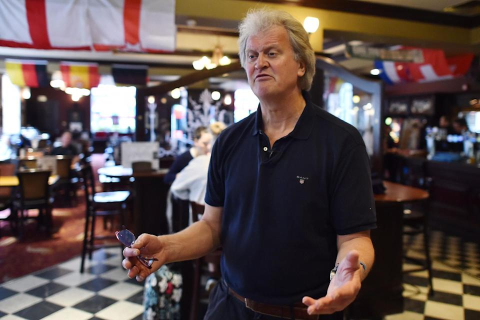 <p>JD Wetherspoon is chaired by Tim Martin</p> (AFP/Getty Images)