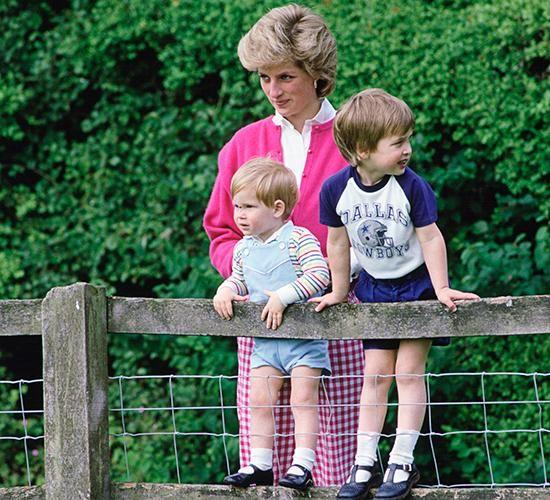 The Princes openly spoke about their mother and lie when they were kids. Photo: Kensington Palace