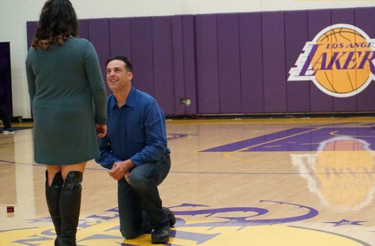 There Really Was A Marriage Proposal At A D League Basketball Game
