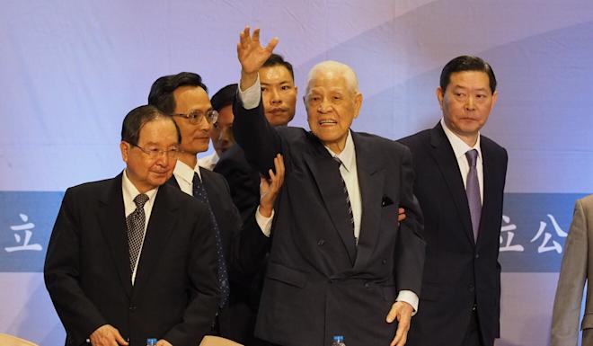 Lee, pictured in 2018, is credited with ending martial law in Taiwan. Photo: C Y YuPhoto: EPA-EFE