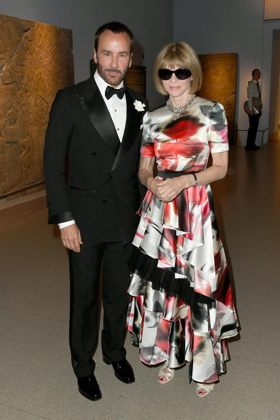 <p>Honorary chairs for the evening will include Anna Wintour, Tom Ford, and Head of Instagram Adam Mosseri.</p>