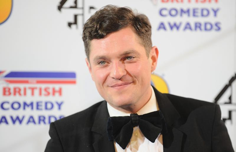 Mathew Horne attends the British Comedy Awards at Fountain Studios on December 12, 2013 in London, England. (Photo by Ferdaus Shamim/WireImage)