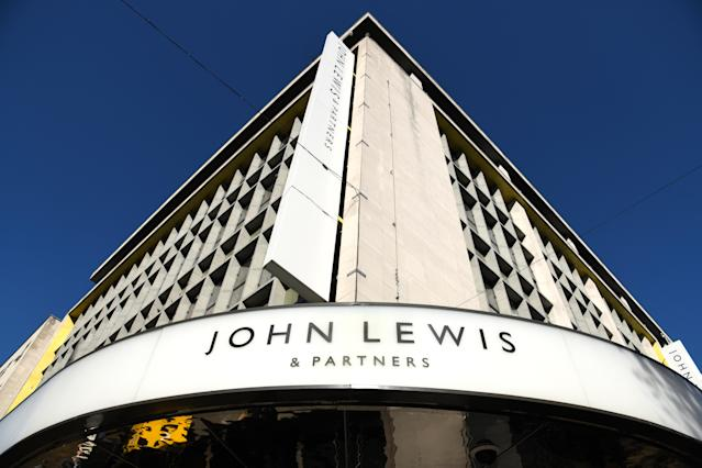 John Lewis, Oxford Street, London. Photo credit should read: Doug Peters/EMPICS